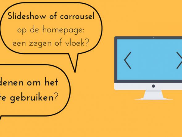 6 redenen om geen slideshow op je homepage te plaatsen